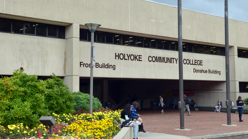 Frost building at Holyoke Community College