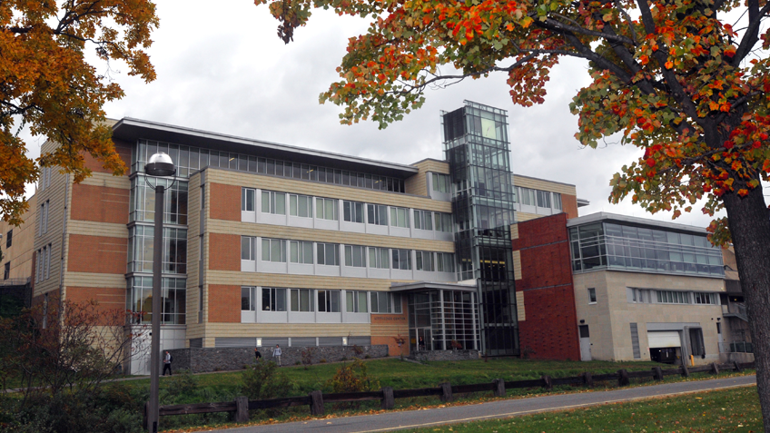 The Kittredge Center building at Holyoke Community College
