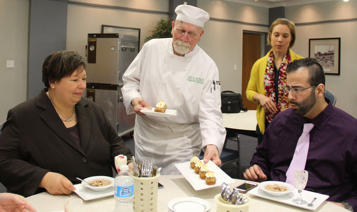 A healthy challenge holyoke community college for Assistant cuisine