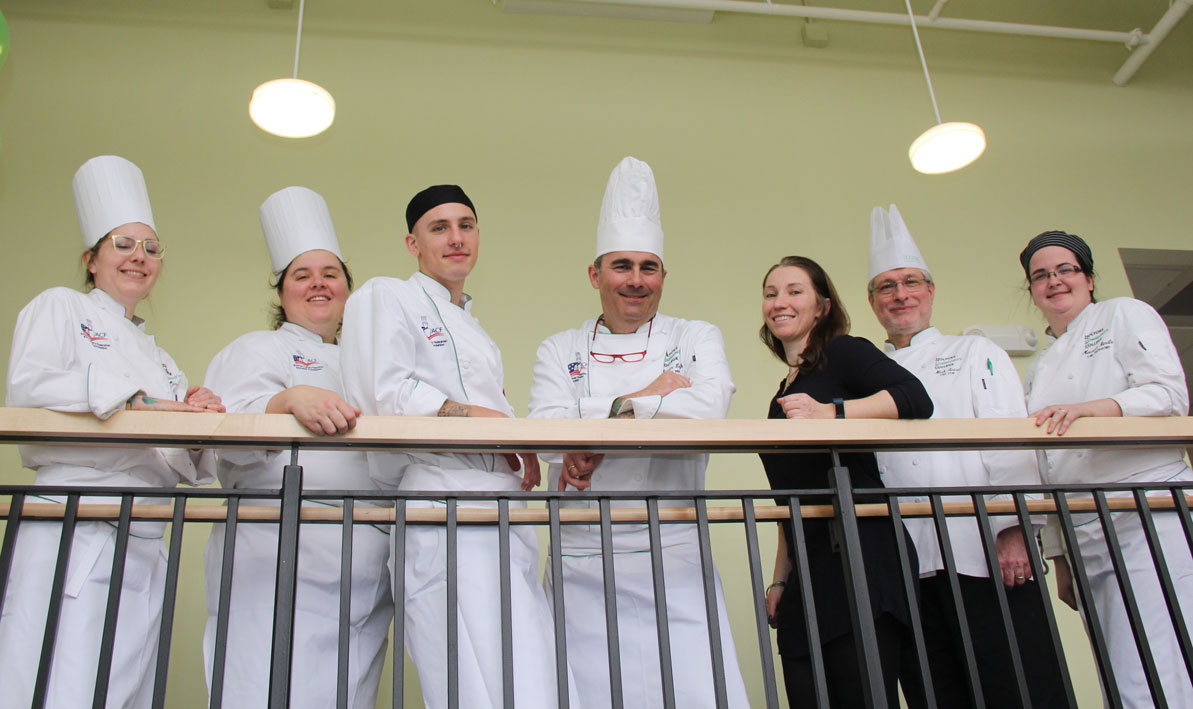 Staff and faculty at the HCC MGM Culinary Arts Institute