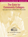 "The cover of ""The Case for Community Colleges"""