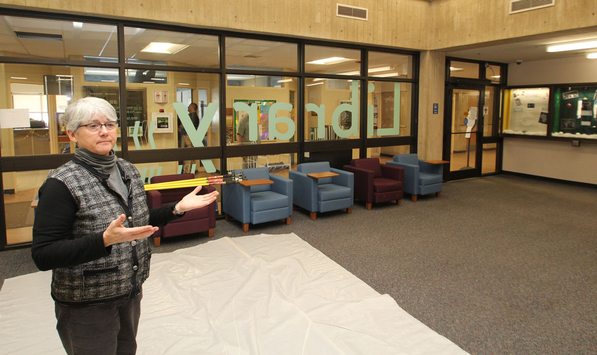 Mary Dixey, dean of Library Services, explains the changes.