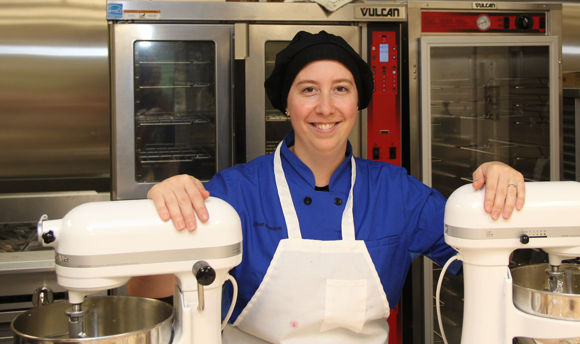 "Chef Maureen Benton will lead the new ""Bake With Me"" cooking series at HCC"