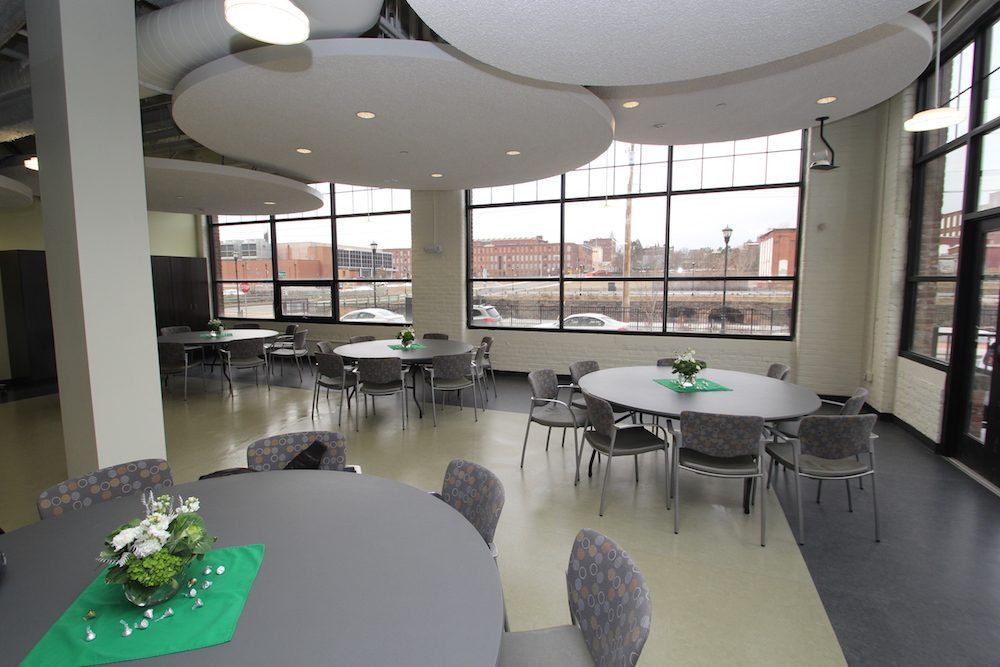 Culinary Arts Institute dining room