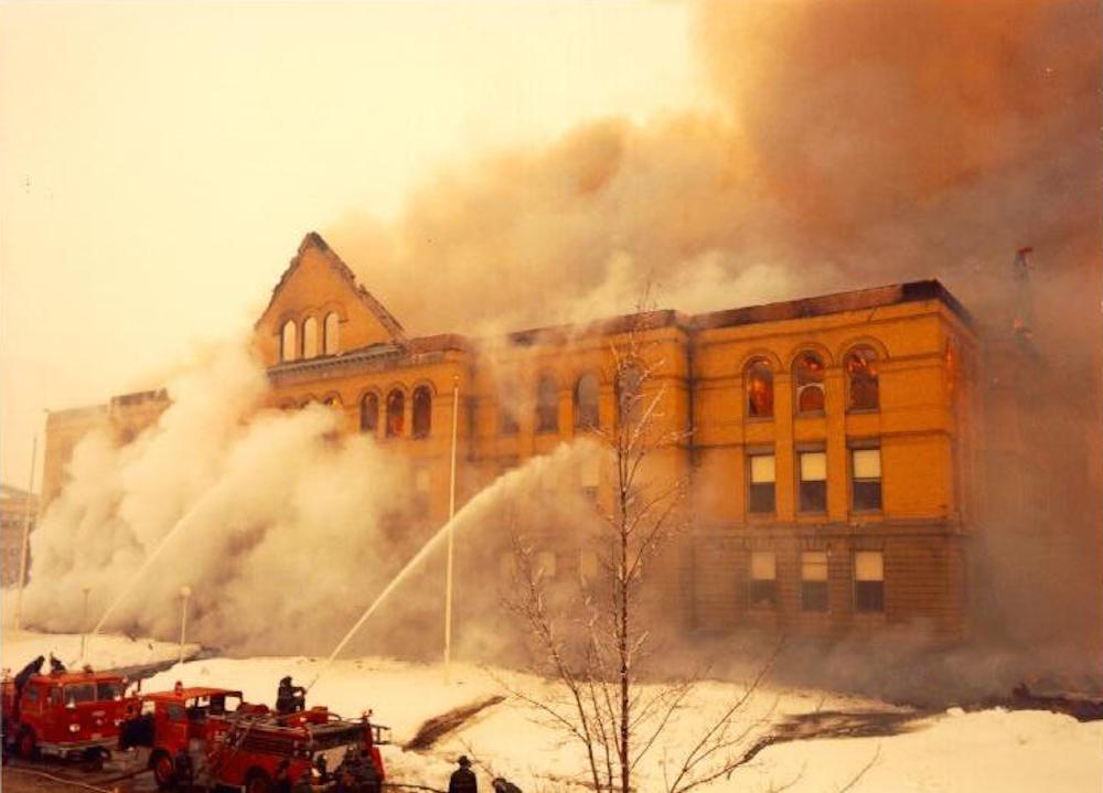 1968 Holyoke Community College fire