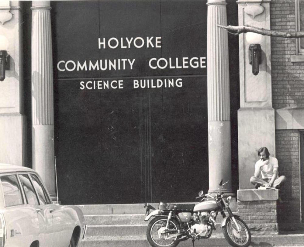 1960's photograph of the HCC science building