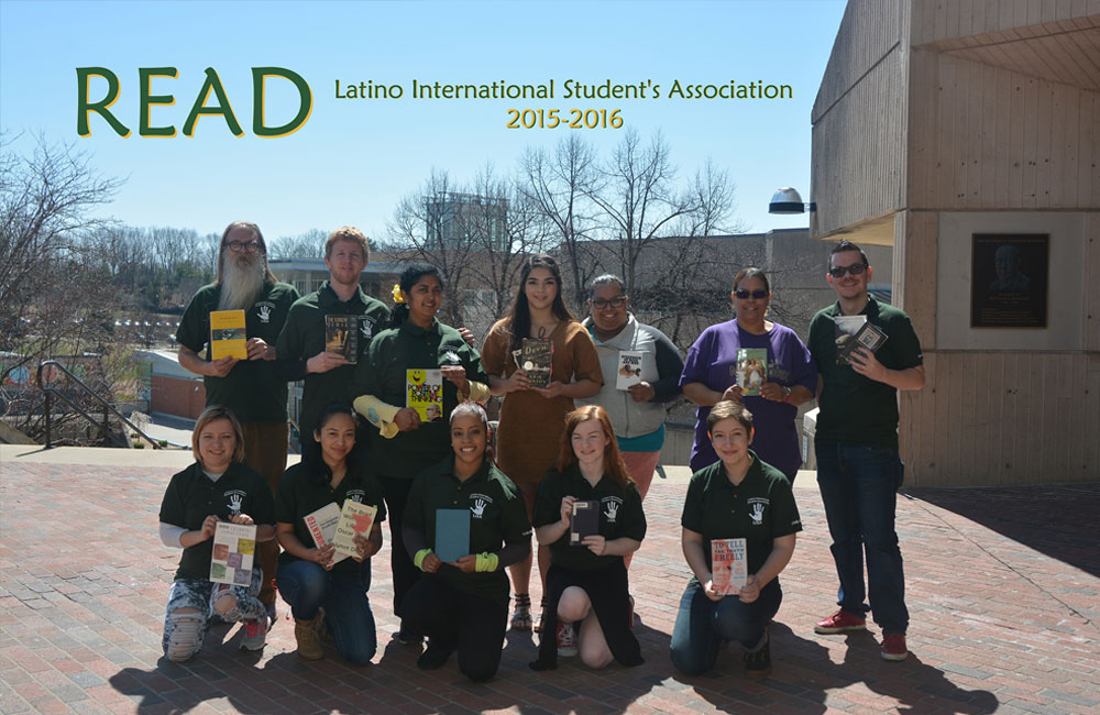 Latino International Students Association's READ Poster