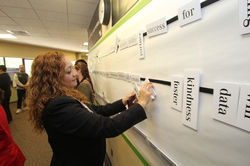 HCC community members create meaningful phrases