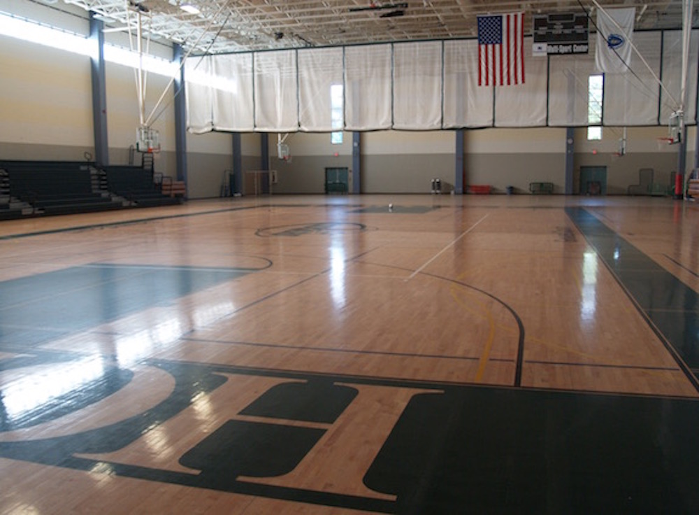 PeoplesBank Gymnasium at the Bartley Center