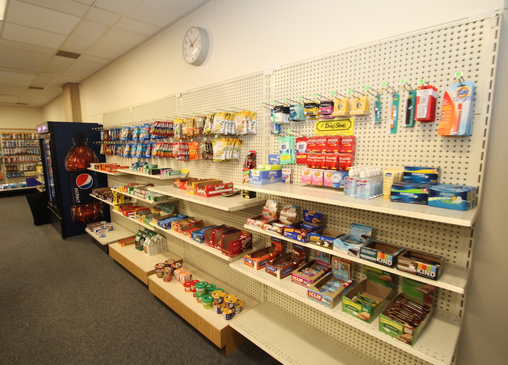 Convenience items in the HCC college store
